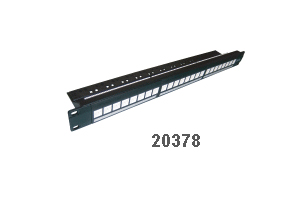 "Hosiwell Cat.5e 19"" Rack Mount Patch Panel"