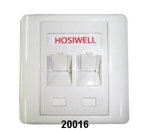 Hosiwell UK & US Type Faceplate