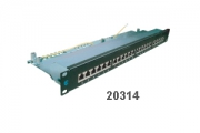 "Hosiwell Cat.6 19"" Rack Mount Patch Panel"