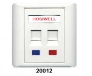 Hosiwell - UK/US英式/美式資訊插座面板